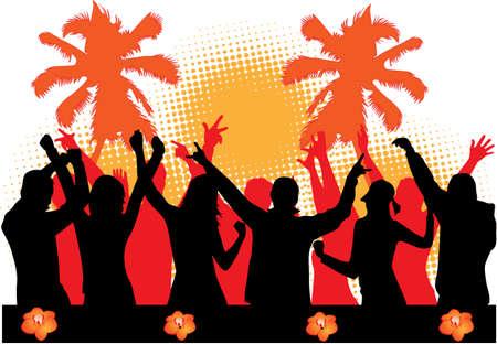 party dancers Vector