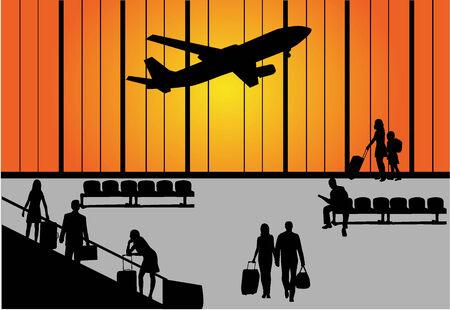 escalator: airport