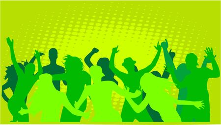Event - green background Vector
