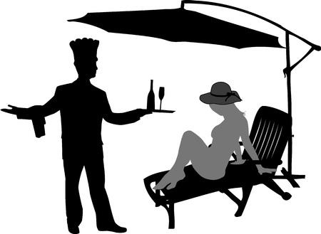 Custom service Illustration