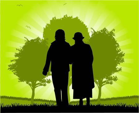 Senioren lopen