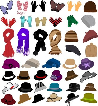 winter clothes  Stock Vector - 9718577