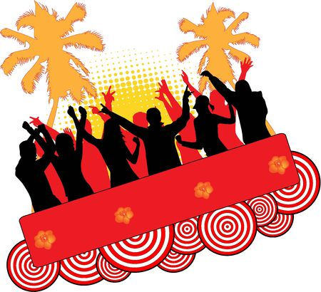 Event at the beach Stock Vector - 9718666
