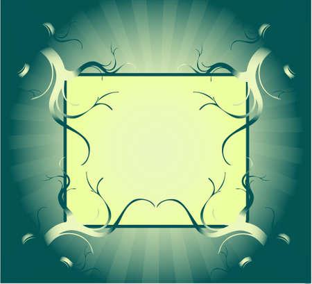 Frame , vector work Stock Vector - 9830370