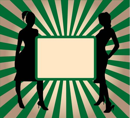 Green Banner Vector