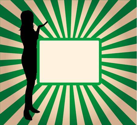 Banner - Green Background (vector vork)