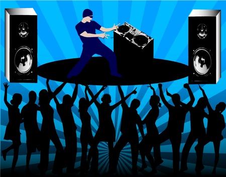DJ Rules Stock fotó - 9830504