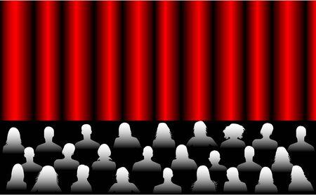 Audience , vectors work Stock Vector - 9931578