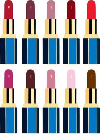 prety: Lipstick Illustration