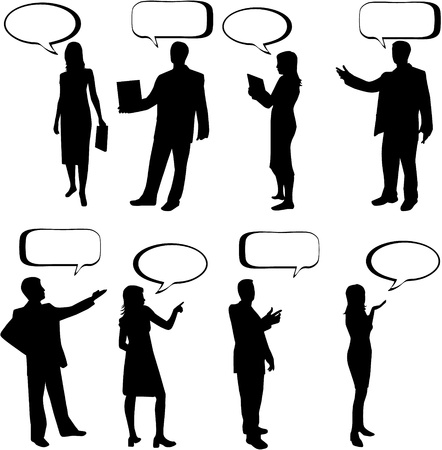 Dialog People  Illustration