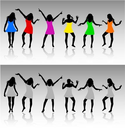 hip hop dancer: Fashion Women, Illustration