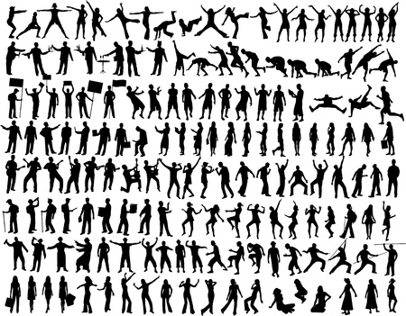 Collection of People Vector