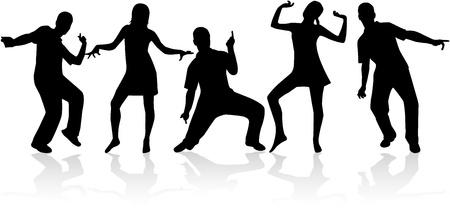 male dancer: Crazy Fun,vectors work