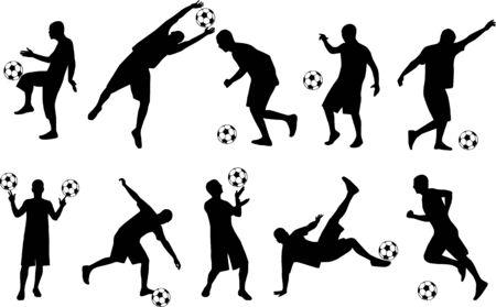footballer: Footballer  Illustration