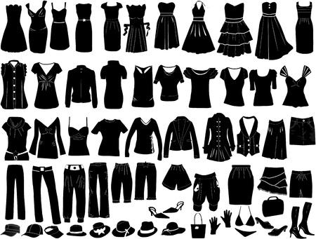 Avond jurken en accessoires