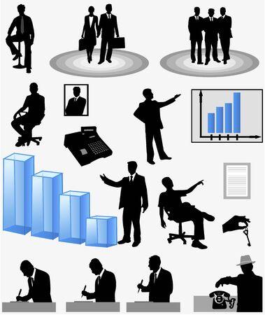 Stock Business 矢量图像