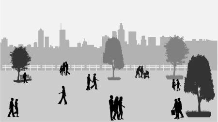 Urban Life  Ilustração