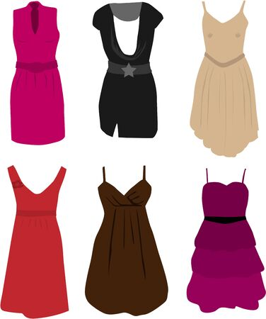 Clothing - elegant dresses