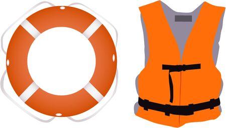 reflection of life: Llife jacket ,life buoys