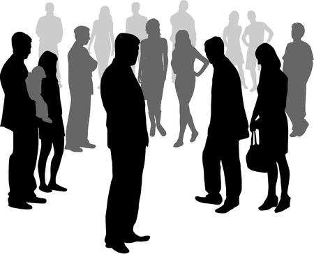 ocupation: People crowd