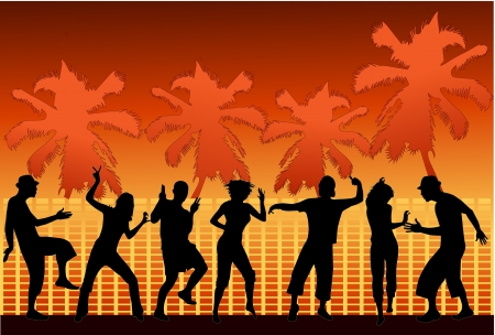 dance shadow: Party