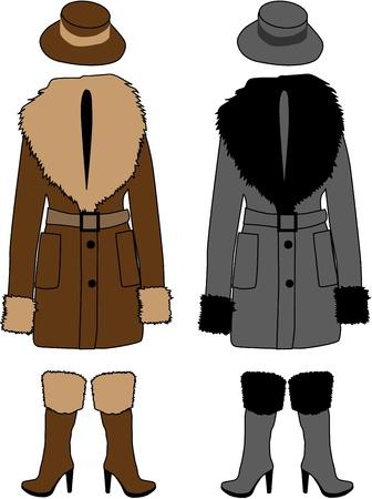 ropa invierno: pelliza