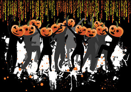 Party -Halloween  Vector