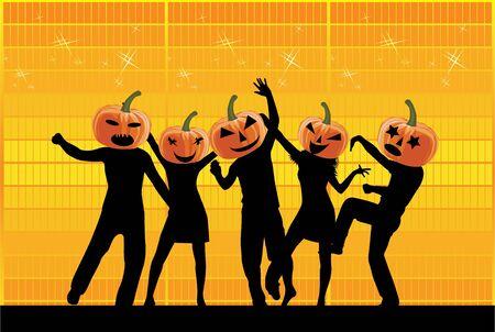 Partei-Halloween Standard-Bild - 14481582