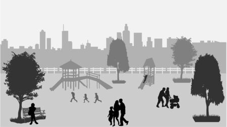 urban life: Vida Urbana Vectores