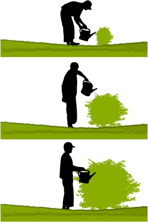 watering: Tuinman
