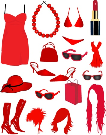 women s fashion Vector