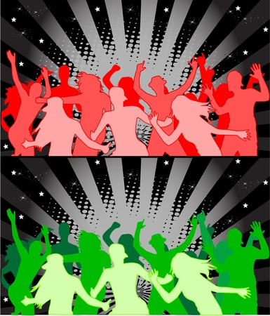 dance shadow: party people