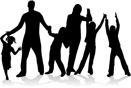 eltern und kind: Profile der gro�en Familie