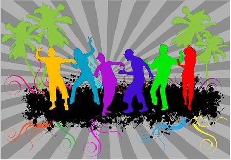 rap: party people dancing