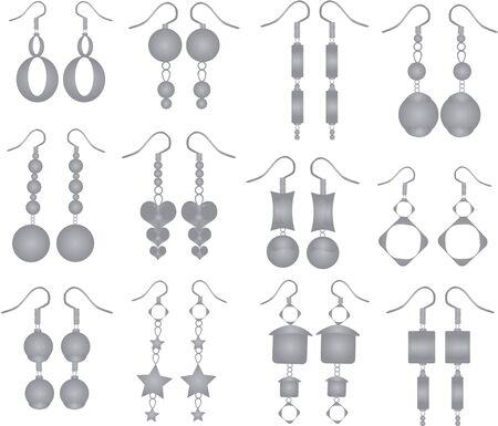decoratio: Jewelry - earrings set