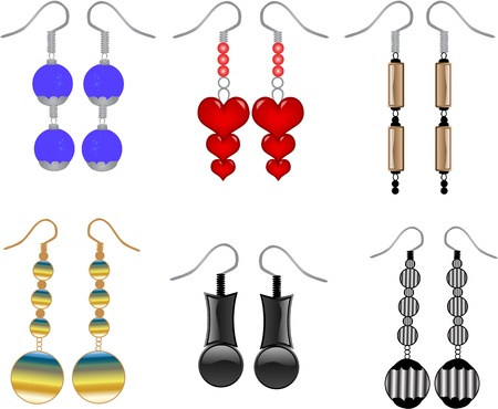 earrings Çizim