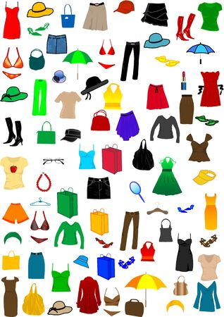 shoping bag: Dressing Women