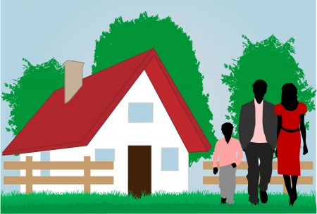 family  Stock Vector - 16556823