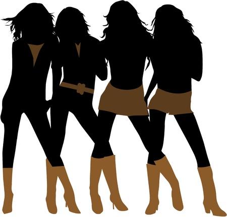 fashion women Stock Vector - 16701658