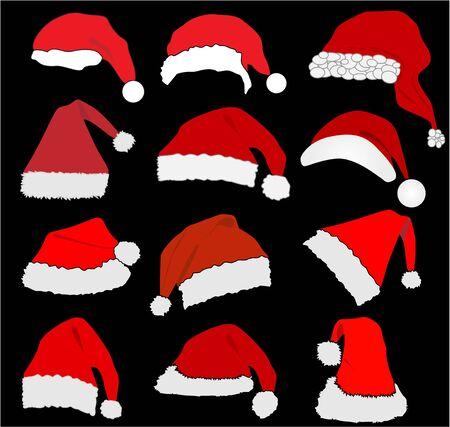 stocking cap: Santa Claus Hat