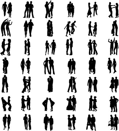 couples Vector