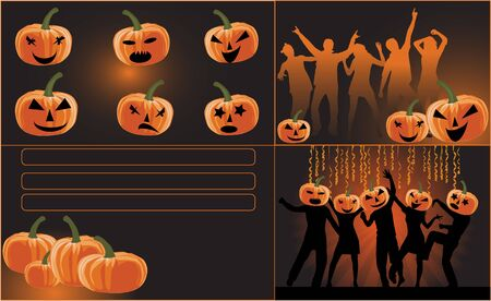 Party-Halloween Standard-Bild - 16701719