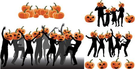 Halloween Party Standard-Bild - 16701691