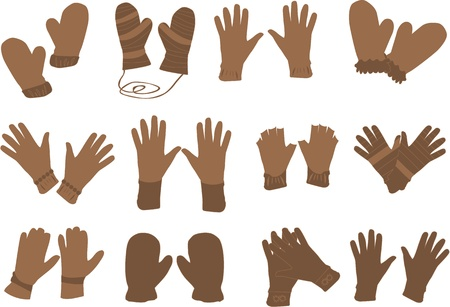 gloves - Vector