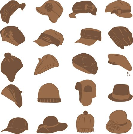 headway: collection of caps and hats