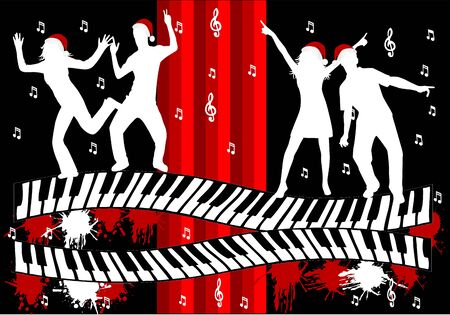 Music Party - illustration  Stock Vector - 16701699
