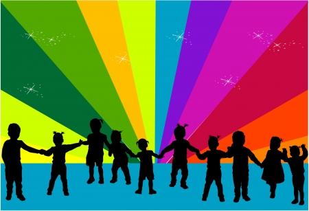 kinder: Sagome di bambini