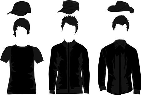 Men fashion Stock Vector - 18684936