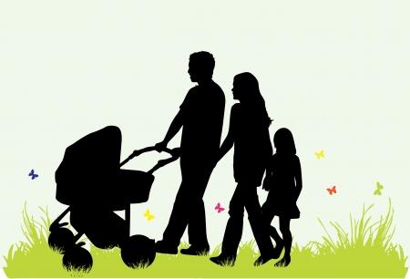 pram: Family - parents and children