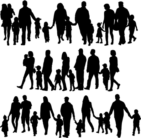 Profiles of large family  Vector